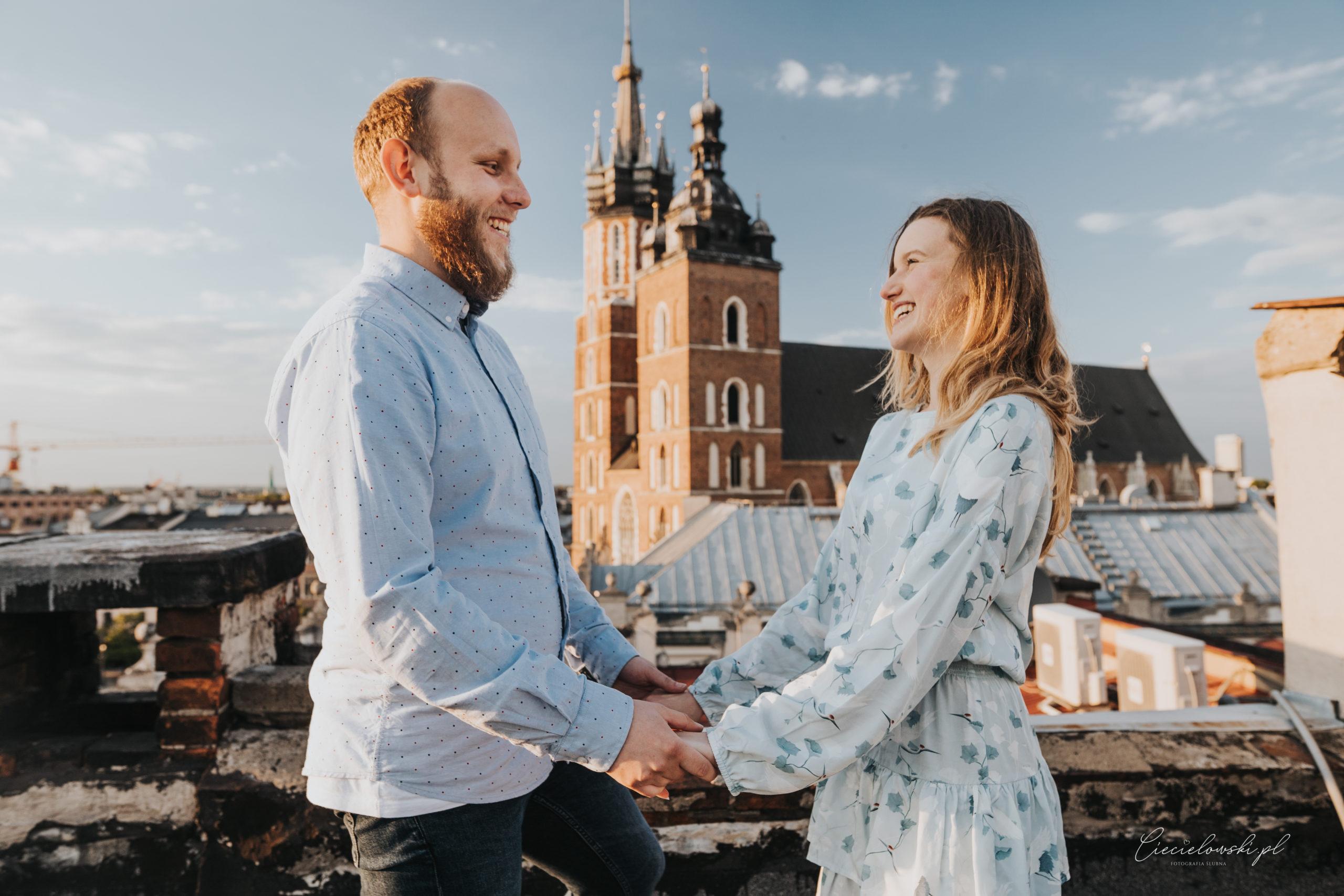 Paulina i Maciek – sesja narzeczeńska